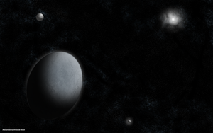 Haumea by AlexfromEarth
