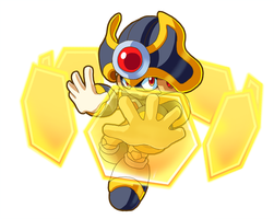 Barrier Man Powered Up by ultimatemaverickx