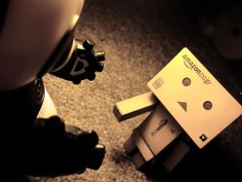 Danbo: Making friends for life by XxRoyalbloodxX