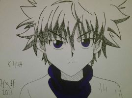 Hunter X Hunter - Killua Zoldyck by tiegs