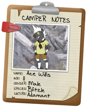 Camp Clement App: Ace by sweetkimothy