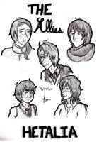 aph - The Allies by jackzarts