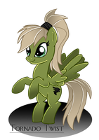 Tornado Twist - Tornado Pony by Ilona-the-Sinister