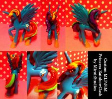 Custom MLP:FiM Princess RainbowDash by StrawberrySoulReaper