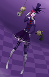 [Stormy] Shadow Ringmaster of the Midnight Circus by ElleNyan