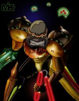 Samus Mikey by MightyMusc