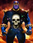 Thanos: Destroyer of Worlds by MichaelCrutchfield