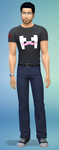 Markiplier Sims 4 FB by ChristinePi