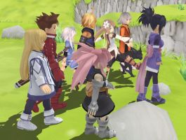 Tales of Symphonia MMD by stopmotionOSkun