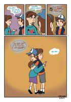 Gravity Falls - The Worst Mistake by TibsisTops