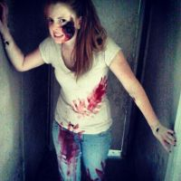 Zombie in the Hall by marandaschmidt
