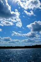 Lake and Sky by WestSideofMidnight