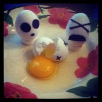 Egg Homicide by Retro-Eternity