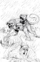 cerberus and gluttons by teach