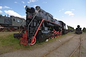 Russian steam locomotive by werneri