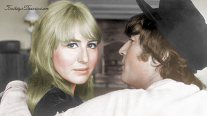 John and Cynthia Lennon at Home 1964 by koolkitty9
