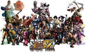 Super Street Fighter 4 Roster by Lunchbox5388