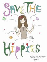 save the hippies by insanespamking