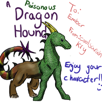 Dragon Hound for Ember by coolsarahkry