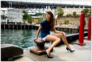Marie - wharfside 3 by wildplaces