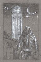 Conan / Tower Of The Elephant by JeffLafferty