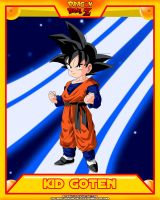 DBZ-Kid Goten by el-maky-z