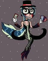 The Joker Sonia as in One Piec by PowderPuffBunny