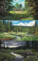 Environment Studies by Heyriel