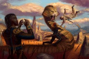 Numenera Fight by JoeSlucher