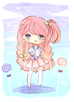 Lollipop Adoptable Giveaway (WINNER) by mochatchi