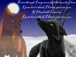 I just don't think I'll ever get over you by RedHawk94
