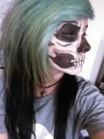Skull makeup by Urianity