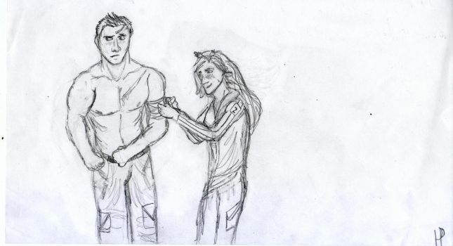 Cato and Clove by Tailungess