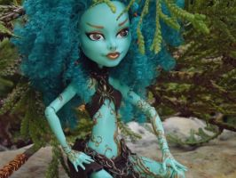 Monster High OOAK doll amazon by my-craftmania