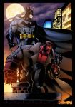 Batman and Hellboy print by BDStevens