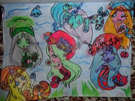 The powers of the Selkies by muzicz4ME