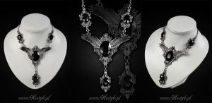 Ravena Necklace by Euflonica