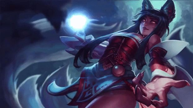 Ahri Animated Wallpaper by CJXander