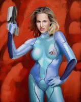 Zero Suit Samus by Garrenh