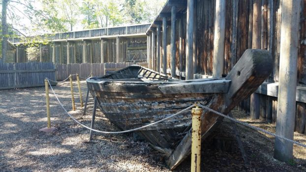 Fort Edomonton: York Boat by MikiDawn577