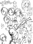 Fall 2008 Doodles 7 by ExpiredPopsicle
