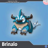 Brinalo Fakemon Redesign by TerryTibke