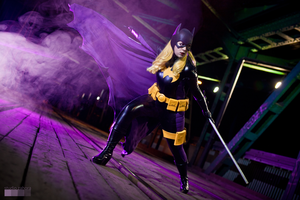 Batgirl in action! by Kairisia