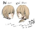 My OCs Aki and Atsui Night by lovecandy95