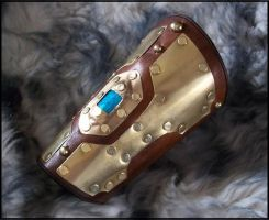 Aqua Regia Bracer by SteamViking