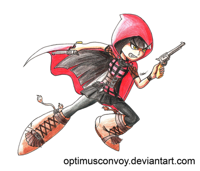 The Girl with the Red Hood by OptimusConvoy