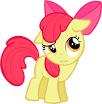 Applebloom :/ by dddvvvzzz