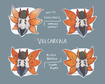 Volcarona Subspecies by epicawesomepieisepic