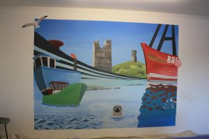 Ardglass Mural by Smyf