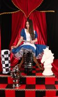Ameican McGee's Alice Throne Room by ThePrincessNightmare